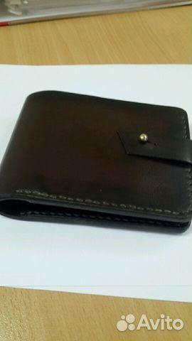 aca5418a5f44 Кожаный мужской портмоне -бумажник