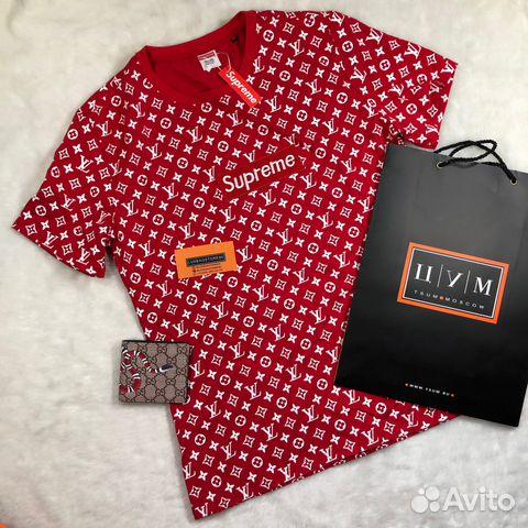 0e137bb75b4e Футболка «Supreme x Louis Vuitton» комплект   Festima.Ru ...
