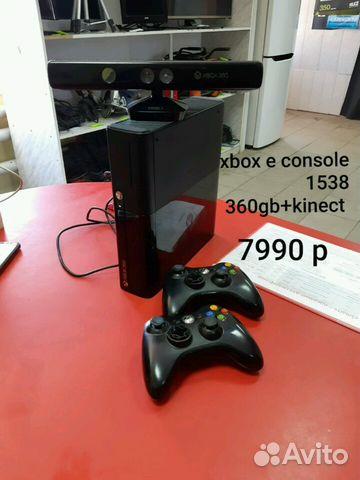 Xbox 360 e console 320 gb model 1538+kinect