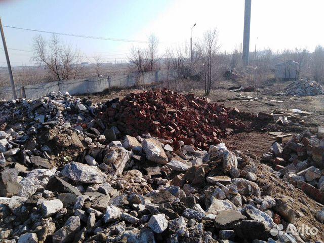 бой бетона отход