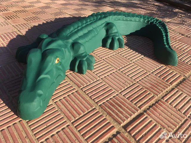 крокодилы из бетона