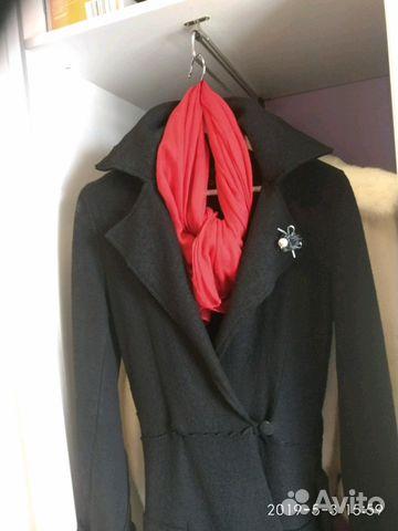 74bdb7e60817e Пальто-кардинган со шляпой, шарфом и сумкой купить в Бурятии на ...