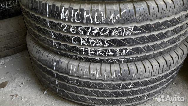 89805377242 265/70 R17 Michelin 2 штуки