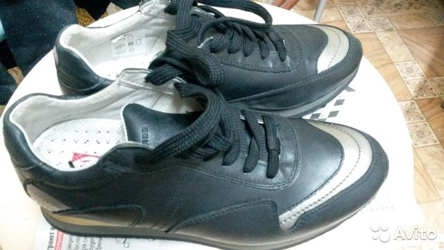 Sneakers leather  buy 4