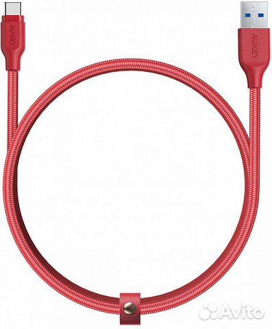 Кабель Aukey Braided Nylon (CB-AC2) USB-C to USB-A  89217104292 купить 1