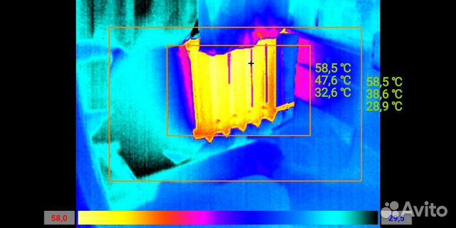 Тепловизор обследование поиск утечек тепла