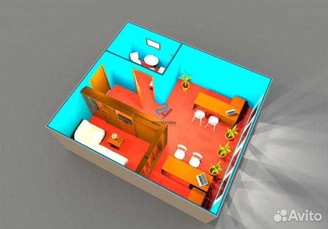 Продам офисное помещение, 38.6 м² 89638342400 купить 1