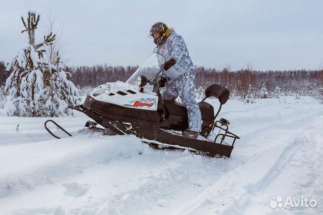 Новы снегоход Буран Лидер аде длинный купить 3