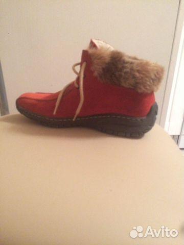 Ботинки Reaker натуральный замш, на меху, в очень 89204029036 купить 1