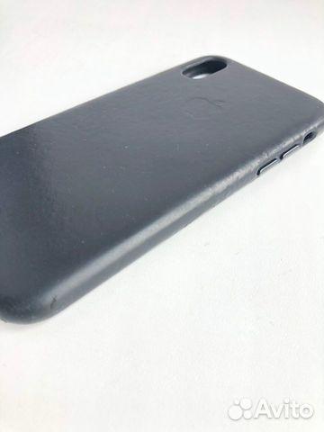 Кожаный чехол для iPhone X, Black. Оригинал 89226777659 купить 3