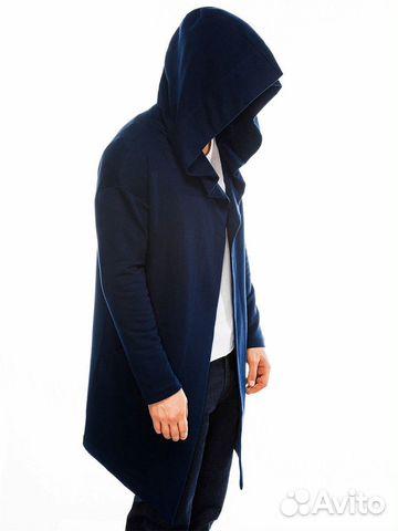 Новая Синяя Мантия с капюшоном 89787830007 купить 1