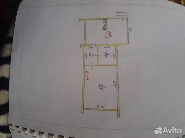 Hus 47 m2 på en tomt på 3 celler.