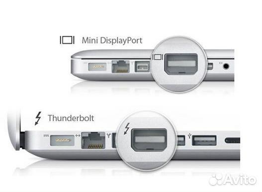 Переходник thunderbolt TO hdmi для Mac