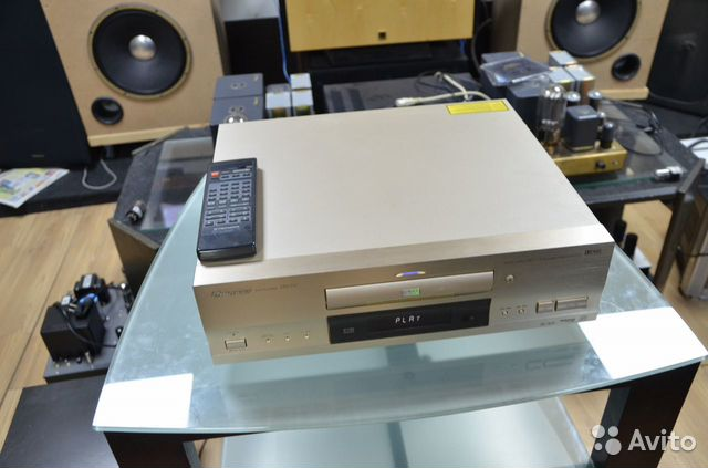 Pioneer DVDCD player DV-717 пульт