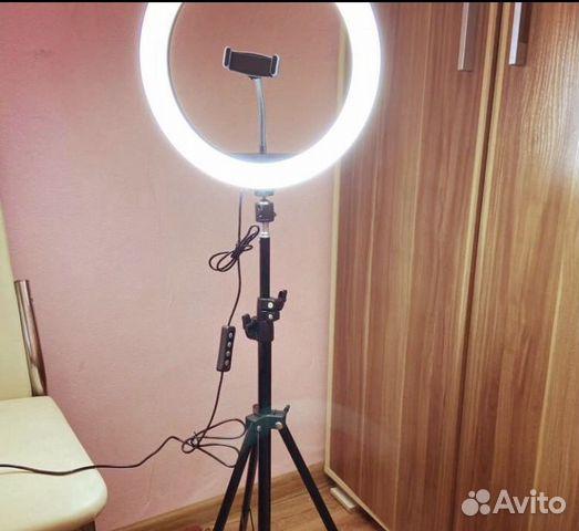 Кольцевая лампа 89307266468 купить 2