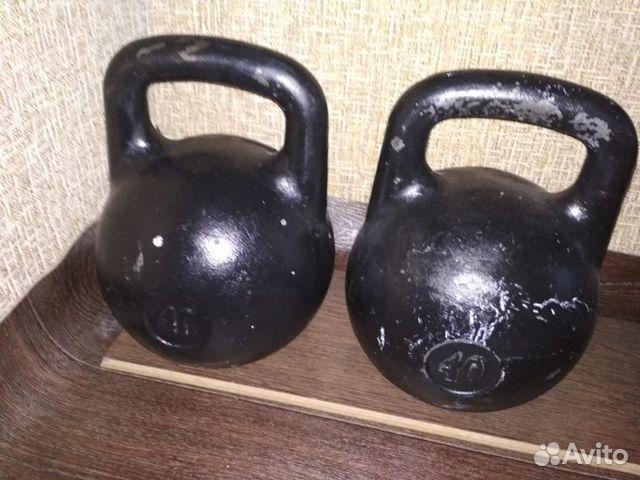 Гири 40 кг 2шт  89080140006 купить 6