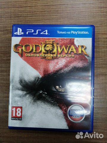 Игра для PS4 God of War3 кгн09