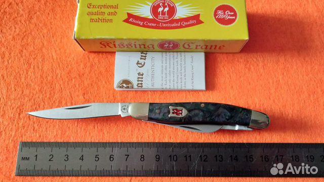 Нож Kissing Crane Trapper Since 1834  купить 4