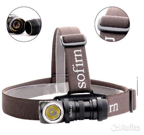 Налобный фонарь Sofirn SP40(новый) +аккум  купить 2