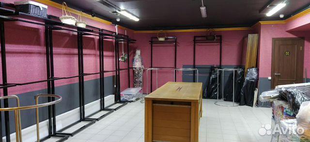 Продам двухуровневые металлические рейлы для одежд