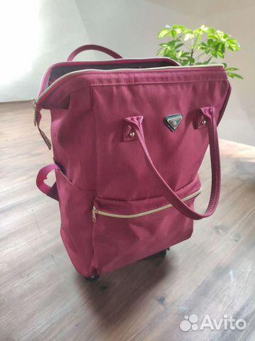 Новая сумка-рюкзак дорожная на колесиках barrley p  89208787198 купить 2