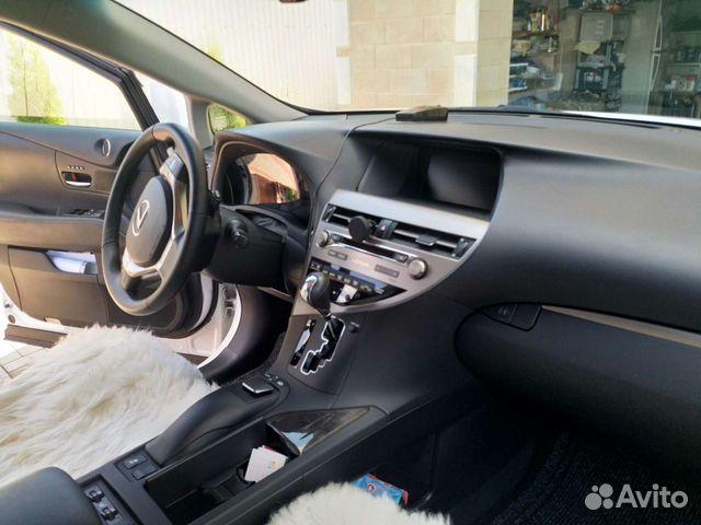 Lexus RX, 2013  89092683607 купить 9