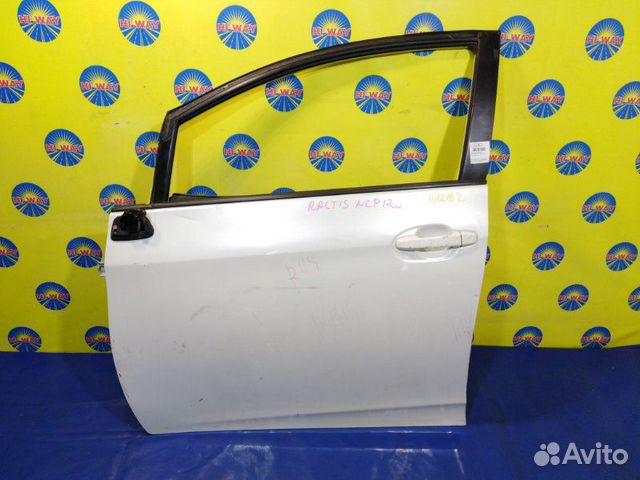 Дверь боковая передняя левая Toyota Ractis NCP120  89235799119 купить 1