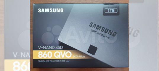 SSD накопитель SAMSUNG 860 QVO MZ-76Q1T0BW 1Тб