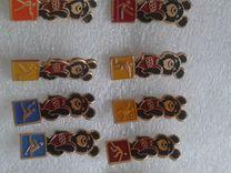 Продам значки СССР олимпийский мишка — Коллекционирование в Челябинске