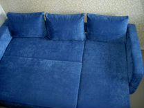 Угловой диван.Пружинный блок.Ортопедический матрас