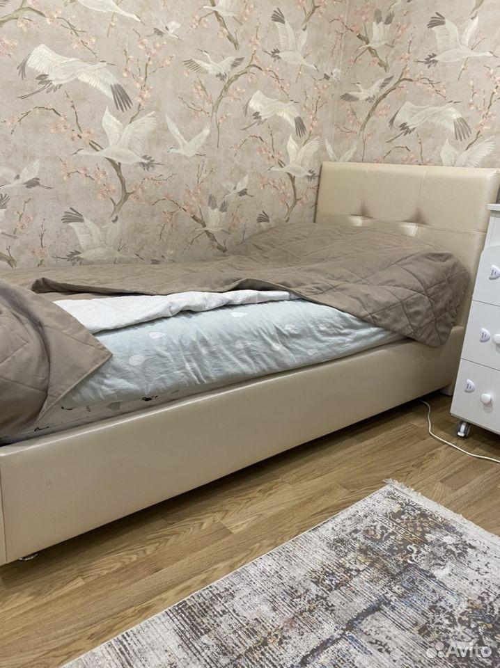 Кровать в экокоже фирмы askona и той же фирмы орто  89806738348 купить 1