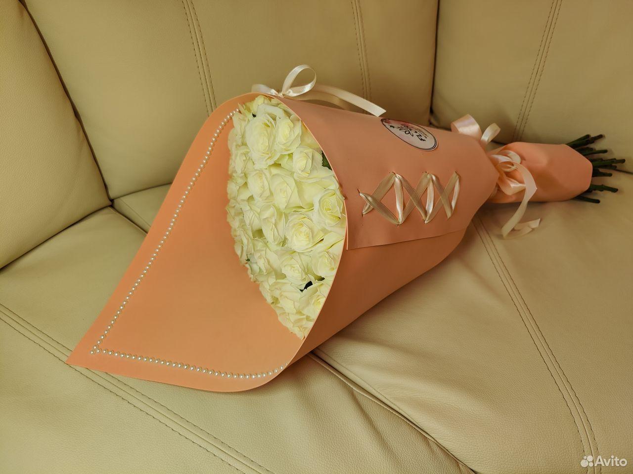 Розы букет Соната  89997501234 купить 3
