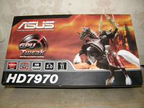 Видеокарта asus Radeon HD 7970