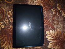 Ноутбук aser с зу на запчасти или под восстановлен