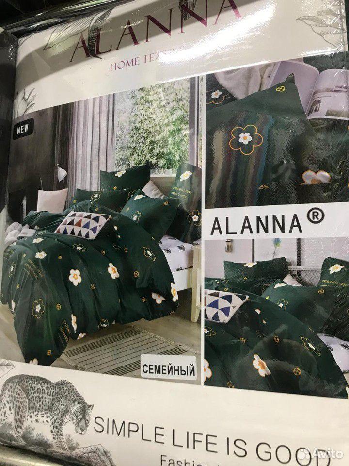 Семейный комплект постельного белья, Сатин  89630122262 купить 5