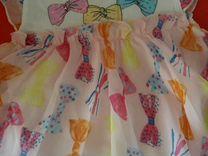 Платье-боди летнее размер 74 см