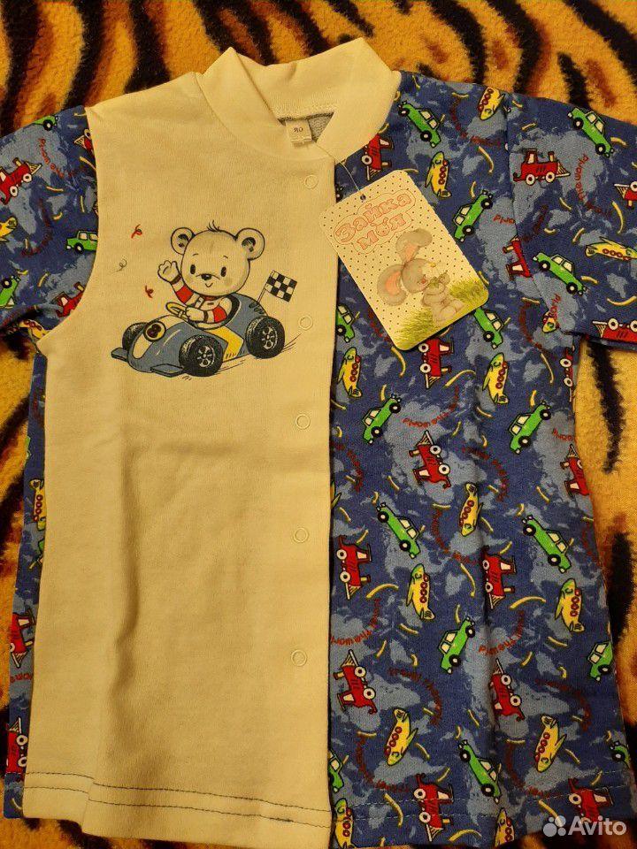 Новая пижама на рост 80 см  89242744104 купить 3