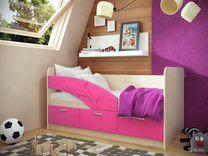 """Детская кроватка """"Дельфин"""",цвета на выбор"""