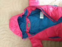 Куртка бенетон для девочки