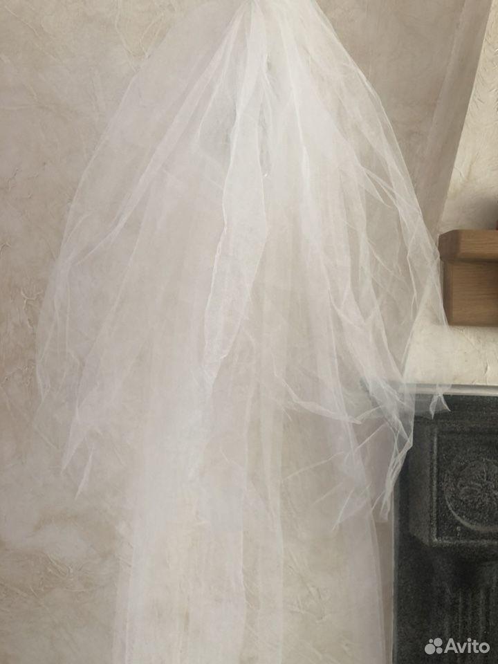 Свадебная фата в пол трехслойная  89818224760 купить 7