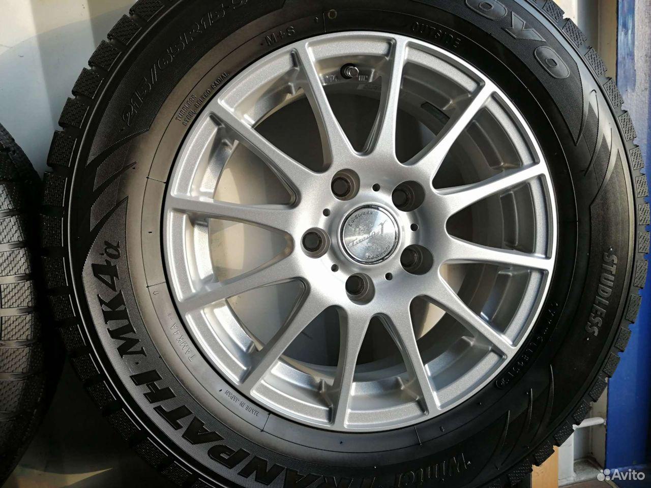 Комплект колес (№47) из Японии  89244146927 купить 2