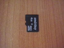 Флешка микро sd 4 gb