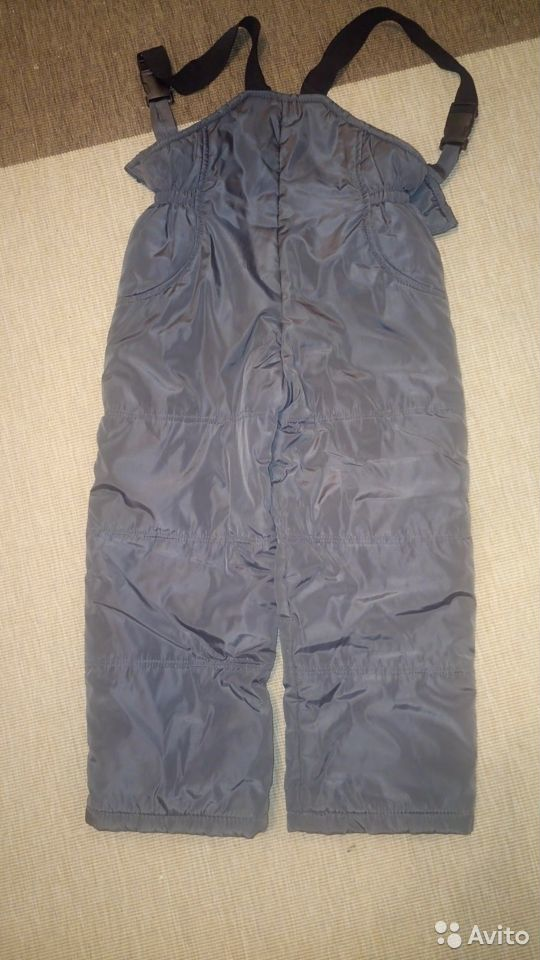 Зимние брюки для мальчика, 122-128 см  89097803574 купить 4