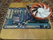 Gigabyte ga-770t-d3l + процессор + 4Gb