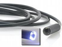 Камера-эндоскоп 2 метра с подсветкой новая
