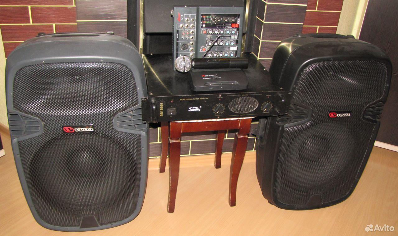 Колонки Volta 700W D15 усилитель микшер микрофон  89128899109 купить 8