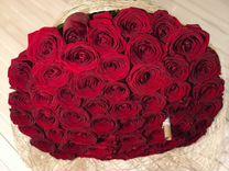 Букет из 51 розы 50см.Доставка цветов в Ставрополе