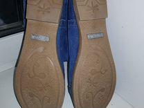 Летние джинсовые сапожки Ersax