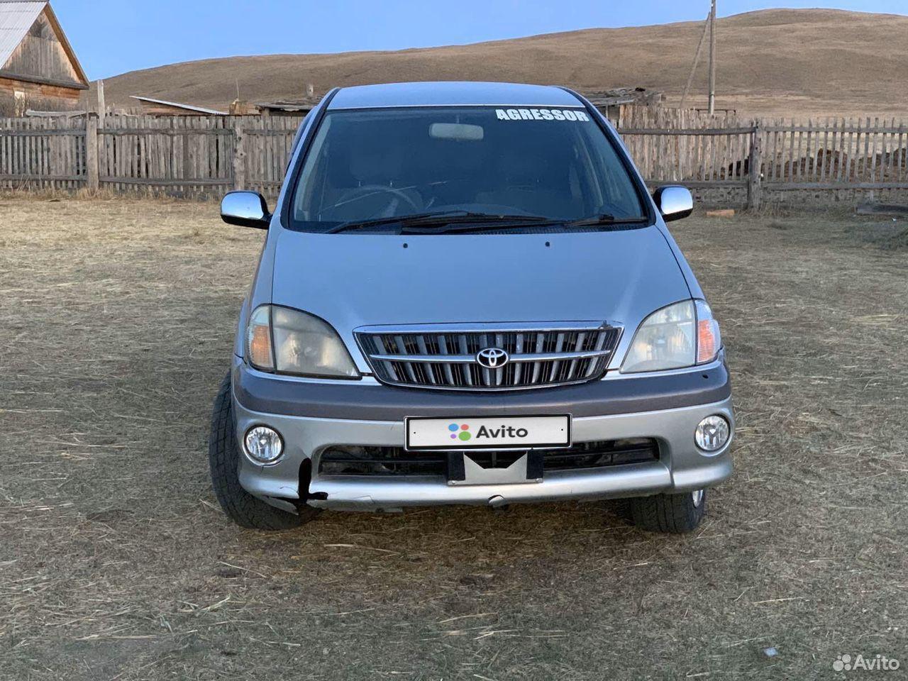 Toyota Nadia, 2000  89644602536 купить 7