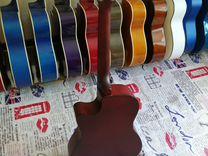 Новая гитара струны металлические